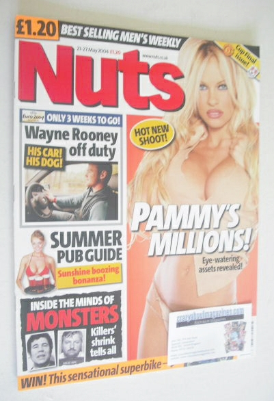 <!--2004-05-21-->Nuts magazine - Pamela Anderson cover (21-27 May 2004)