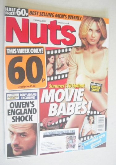 <!--2004-05-07-->Nuts magazine - Kirsten Dunst cover (7-13 May 2004)