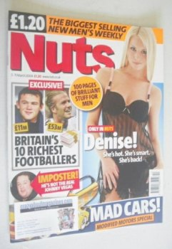 Nuts magazine - Denise Van Outen cover (5-11 March 2004)