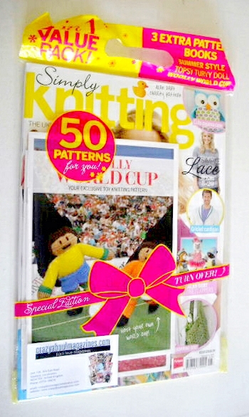Simply Knitting magazine (Issue 120 - May 2014)