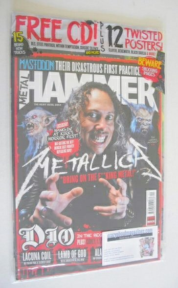 <!--2014-04-->Metal Hammer magazine - Metallica cover (April 2014)