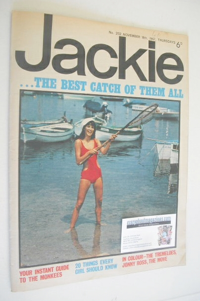 <!--1967-11-18-->Jackie magazine - 18 November 1967 (Issue 202)