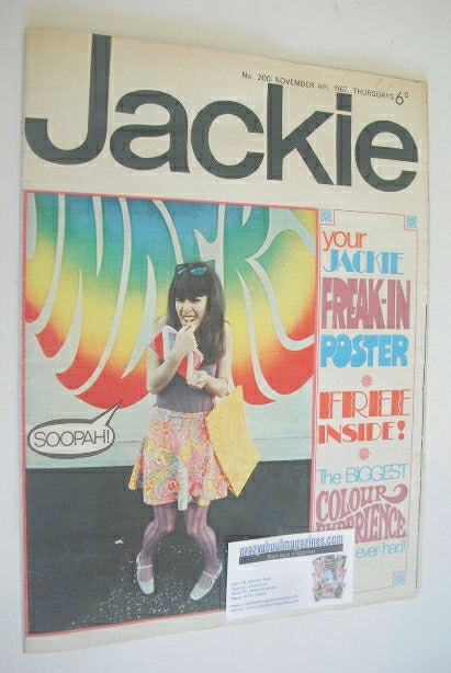 <!--1967-11-04-->Jackie magazine - 4 November 1967 (Issue 200)