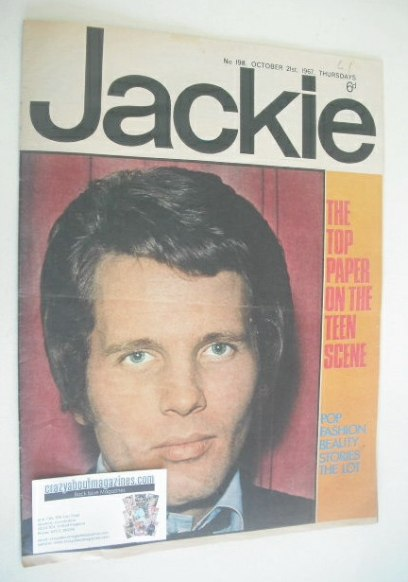 <!--1967-10-21-->Jackie magazine - 21 October 1967 (Issue 198)