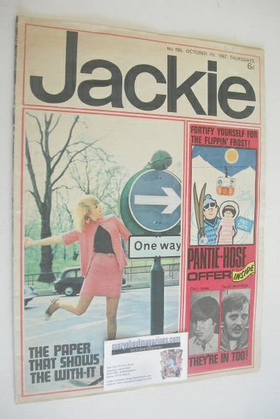<!--1967-10-07-->Jackie magazine - 7 October 1967 (Issue 196)