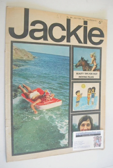 <!--1967-07-15-->Jackie magazine - 15 July 1967 (Issue 184)