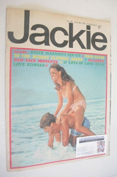 <!--1967-07-08-->Jackie magazine - 8 July 1967 (Issue 183)