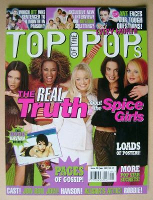 <!--1997-06-->Top Of The Pops magazine - Spice Girls cover (June 1997)