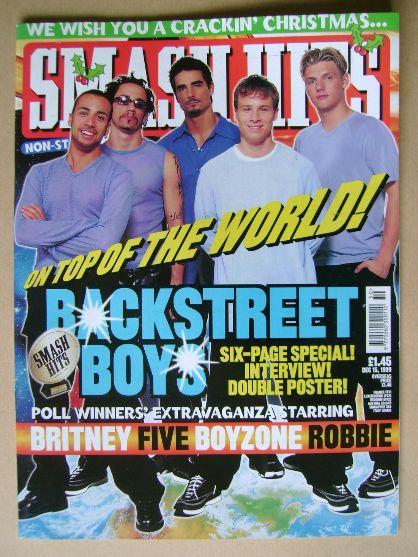 <!--1999-12-15-->Smash Hits magazine - Backstreet Boys cover (15 December 1