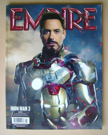 <!--2013-04-->Empire magazine - Robert Downey Jr cover (April 2013 - Issue
