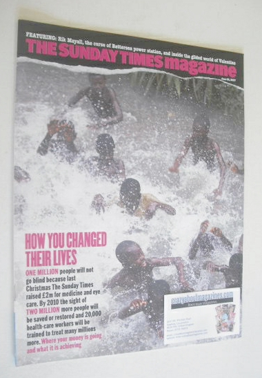 <!--2007-06-24-->The Sunday Times magazine - How You Changed Their Lives co