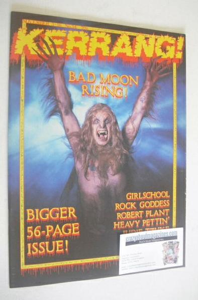 <!--1983-11-03-->Kerrang magazine - Ozzy Osbourne cover (3-16 November 1983