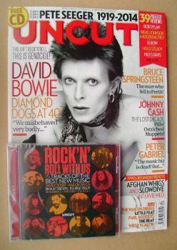 Uncut magazine - David Bowie cover (April 2014)