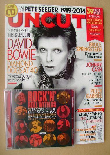 <!--2014-04-->Uncut magazine - David Bowie cover (April 2014)