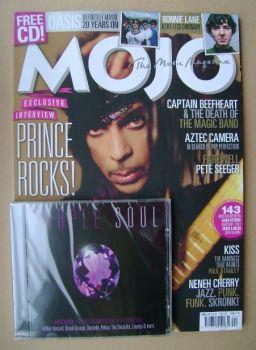 MOJO magazine - Prince cover (April 2014 - Issue 245)