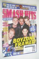 <!--1997-07-02-->Smash Hits magazine - Boyzone cover (2-16 July 1997)