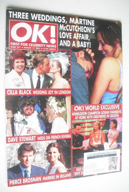 <!--2001-08-17-->OK! magazine (17 August 2001 - Issue 277)