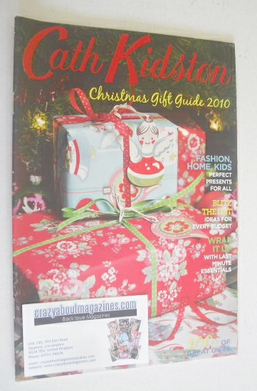 <!--2010-12-->Cath Kidston Christmas Gift Guide 2010 catalogue