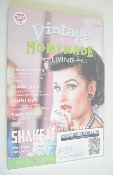 <!--0007-->Vintage & Homemade Living magazine (Issue 7)