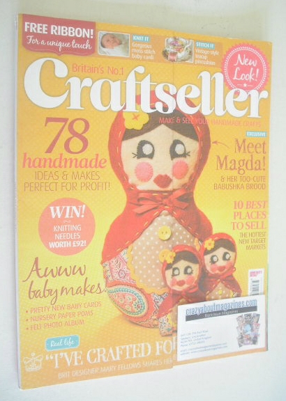 <!--2013-08-->Craftseller magazine (August 2013 - Issue 26)