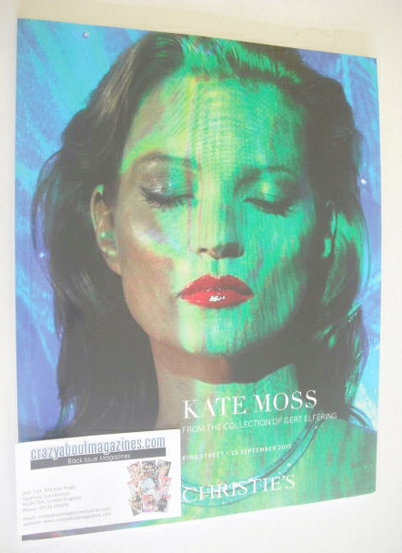 Christie's Catalogue - Kate Moss (From The Collection of Gert Elfering)