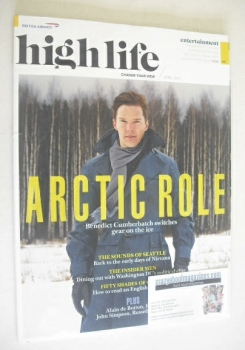 High Life magazine - Benedict Cumberbatch cover (April 2014)