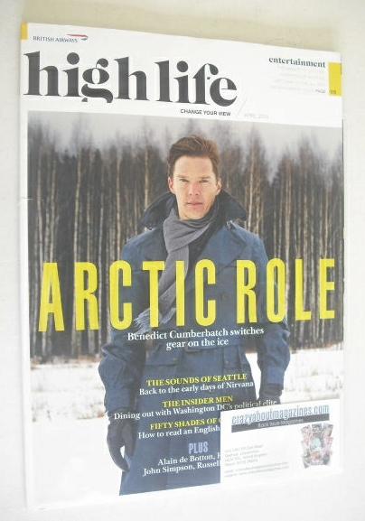 High Life magazine - Benedict Cumberbatch cover (April 2014)