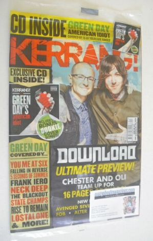 <!--2014-06-14-->Kerrang magazine - Download Ultimate Preview cover (14 Jun