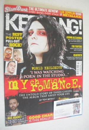 <!--2014-06-07-->Kerrang magazine - Gerard Way cover (7 June 2014 - Issue 1