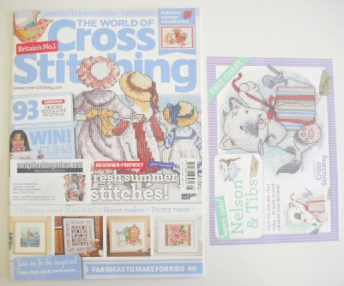 <!--0205-->The World Of Cross Stitching magazine (August 2013 - Issue 205)