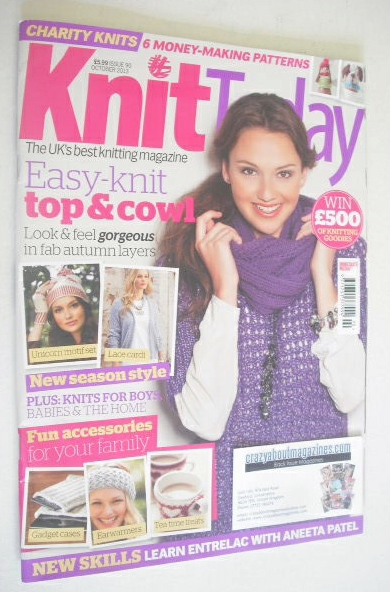 <!--2012-10-->Knit Today magazine (Issue 90 - October 2013)