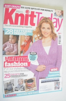 Knit Today magazine (Issue 89 - September 2013)