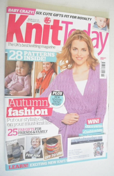 <!--2012-09-->Knit Today magazine (Issue 89 - September 2013)
