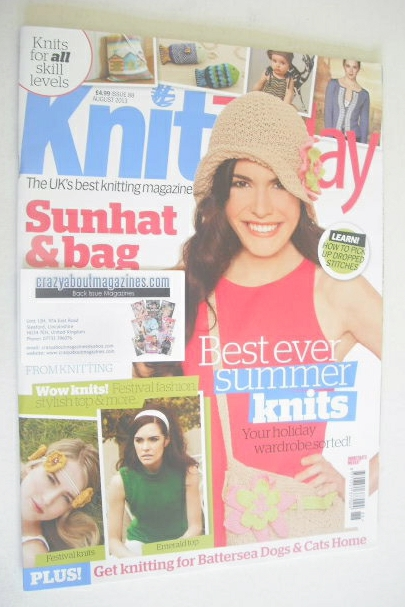 Knit Today Magazine Issue 88 August 2013