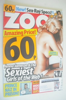 Zoo magazine - Jenna Jameson cover (2-8 June 2006)