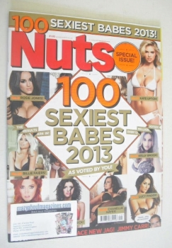 Nuts magazine - 101 Sexiest Babes 2013 cover (6-12 December 2013)