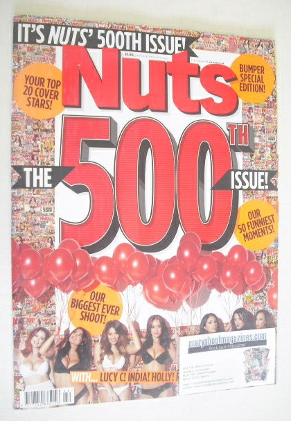 <!--2013-10-18-->Nuts magazine - 500th Issue (18-24 October 2013)