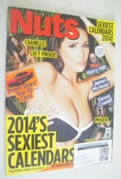 Nuts magazine - Lucy Pinder cover (4-10 October 2013)