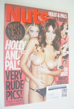 Nuts magazine - Holly Peers and Nicole Neal cover (29 March - 4 April 2013)