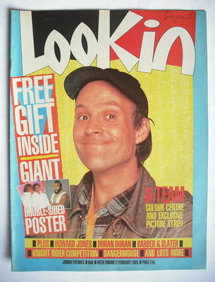 <!--1985-02-02-->Look In magazine - William Dwight Shultz cover (2 February