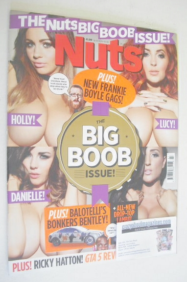 <!--2012-11-23-->Nuts magazine - The Big Boob Issue (23-29 November 2012)