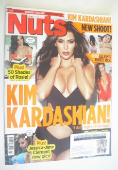 Nuts magazine - Kim Kardashian cover (14-20 September 2012)
