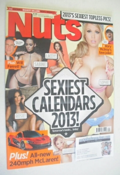 Nuts magazine - Sexiest Calendars 2013 cover (28 September - 4 October 2012)