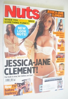 Nuts magazine - Jessica-Jane Clement cover (19-25 August 2011)