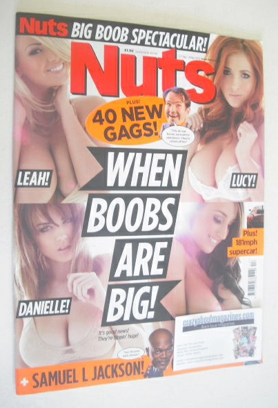 <!--2012-04-27-->Nuts magazine - When Boobs Are Big cover (27 April - 3 May