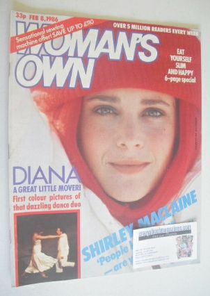 <!--1986-02-08-->Woman's Own magazine - 8 February 1986