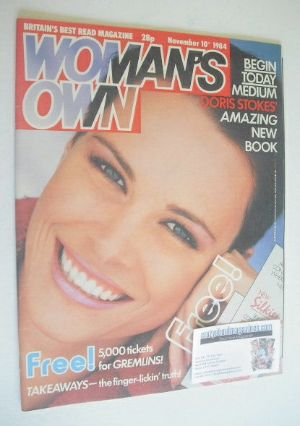 <!--1984-11-10-->Woman's Own magazine - 10 November 1984