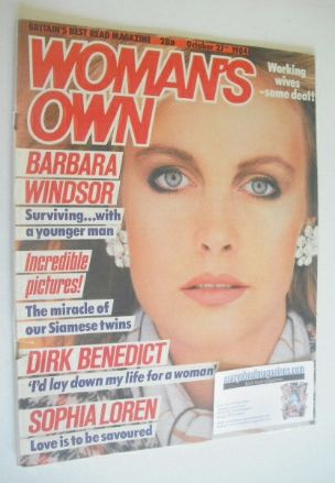 <!--1984-10-27-->Woman's Own magazine - 27 October 1984