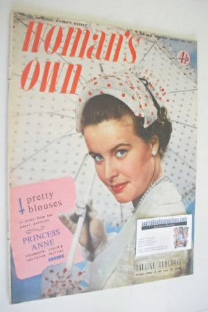 <!--1953-08-13-->Woman's Own magazine - 13 August 1953