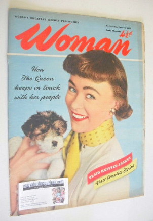 <!--1953-06-27-->Woman magazine (27 June 1953)